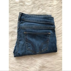 Hollister skinny blue jeans size 7S